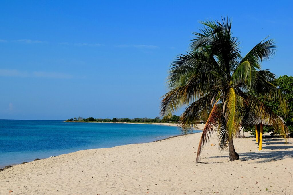 beach, cuba, trinidad